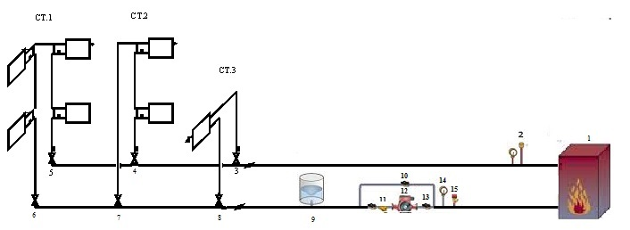 Аксонометрическая схема