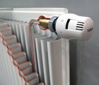 Регулятор температуры для радиатора