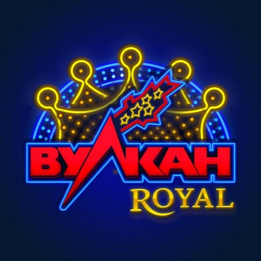 Логотип интернет казино Вулкан Роял